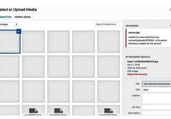 WordPress resim yükleme hatası upload sorunu alternatif çözüm